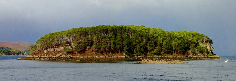 Island opposite the village of Shieldaig.