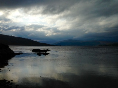 Loch Sunart near Strontian, on a day which never seemed to quite get light.