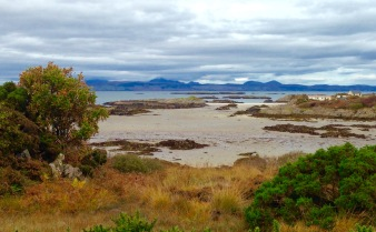 The coast at Arisaig.