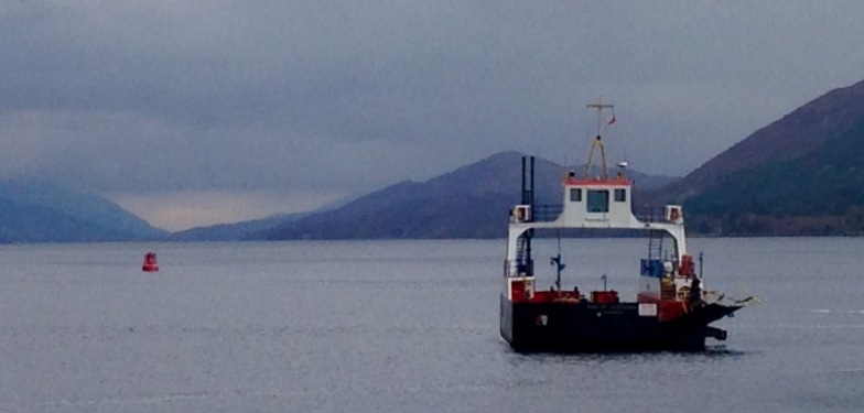 The Corran Ferry; second crossing.