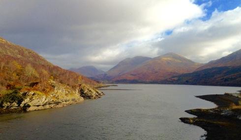 Loch Creran from the Creagan Bridge.