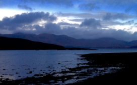 Port Appin; fading light.