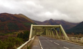 The Ballachulish Bridge.