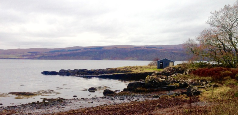 The old slipway at Drimnin: the end of the line.