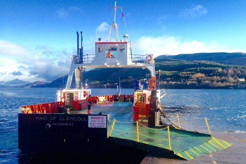 The Corran Ferry: my third crossing.