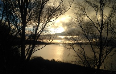 Early morning: where Loch Aline meets the Sound of Mull.