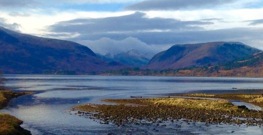 Loch Eil, just south of Fort William.