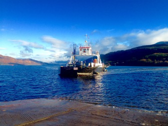 My fourth and last crossing on the Corran Ferry.