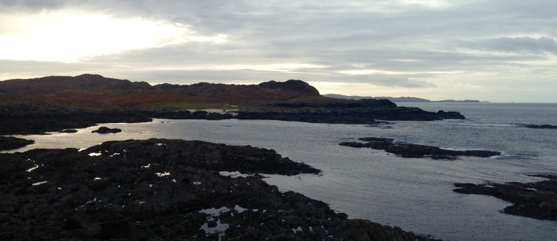 Ardnamurchan Point: the most Westerly point of the British mainland.