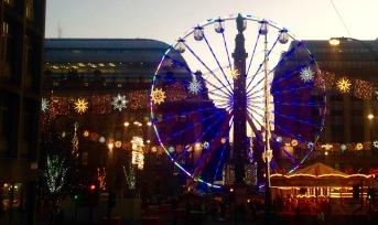 Glasgow: Christmas fair at Townhead.