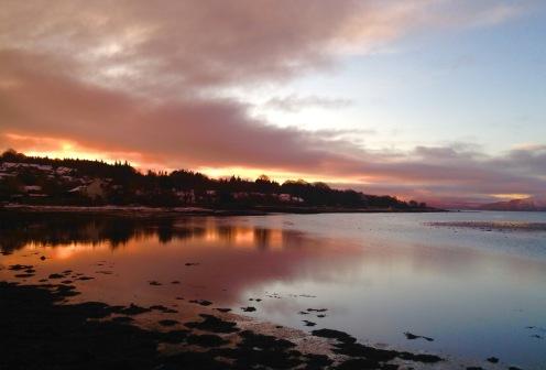 Sunrise, Lochgilphead.