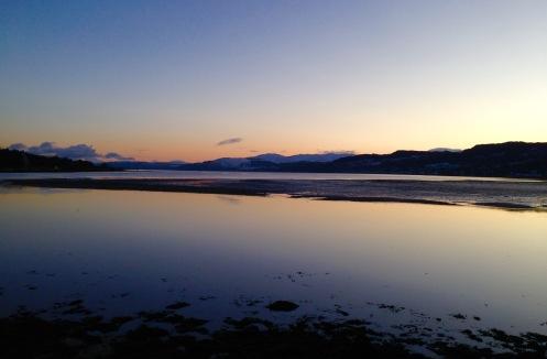 Sunset, Lochgilphead.