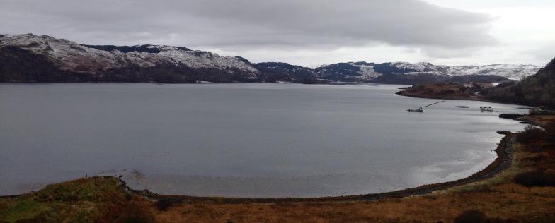Descending to Loch Melfort.