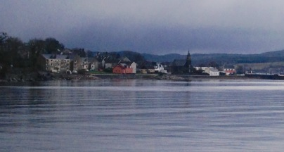 Looking back to Ardrishaig.