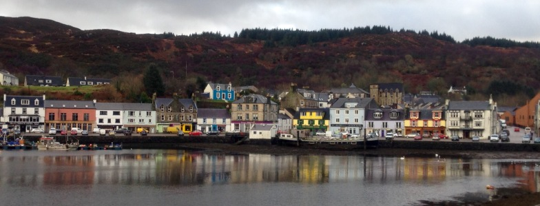 Tarbert; between hail storms.
