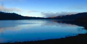 Winter light, Loch Feochan.