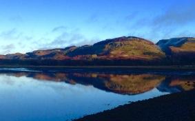 Early morning reflections in Loch Feochan.