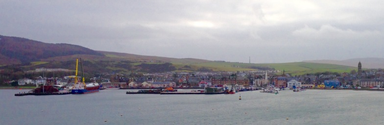 Arrival in Campbeltown.
