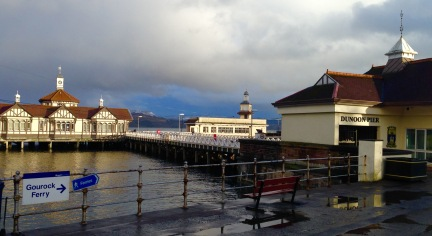 Dunoon Ferry Terminal.