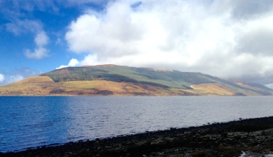 Mouth of Loch Striven.