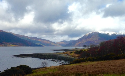 Walking up the East side of Loch Striven.