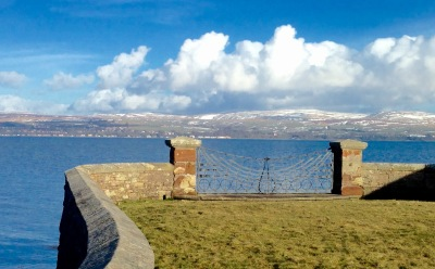 Looking across the Firth of Clyde.