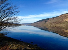 Loch Fyne at Cairndow.