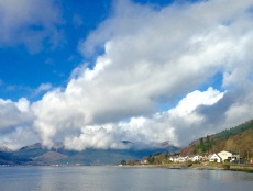 Near the mouth of Holy Loch.