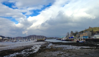 Back in Tarbert.
