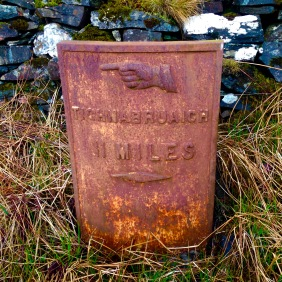"Old iron ""milestone""."