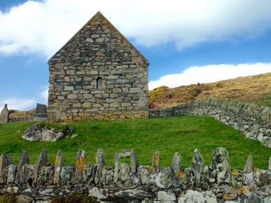 The Keills Chapel.