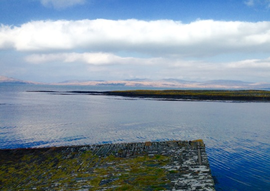 The Old Slipway, Sound of Jura.