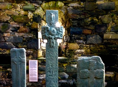 Keills Chapel: early crosses and cross slabs and the High Cross of Keills.