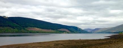 Walking the last nine miles around Loch Fyne, between Strachur and Cairndow.