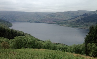 Loch Goil from the high level path.