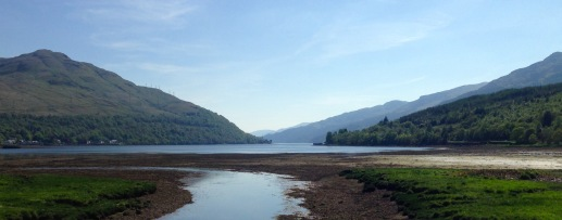 From the top of Loch Long.
