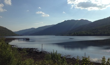Loch Long at Arrochar, looking South.
