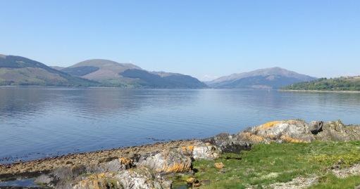 Loch Long from Ardpeaton.