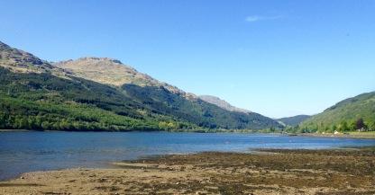 Loch Long at Arrochar, looking North.