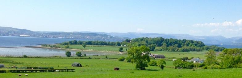 "Looking towards the Ardmore ""peninsula""."
