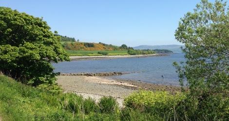 "Walking round the Kilcreggan ""peninsula""."